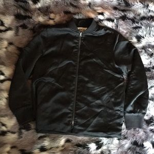RARE MTWTFSS WEEKDAY Padded Bomber European Black